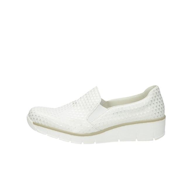 05e06eba61299 Rieker dámske štýlové poltopánky - biele Rieker dámske štýlové poltopánky -  biele ...