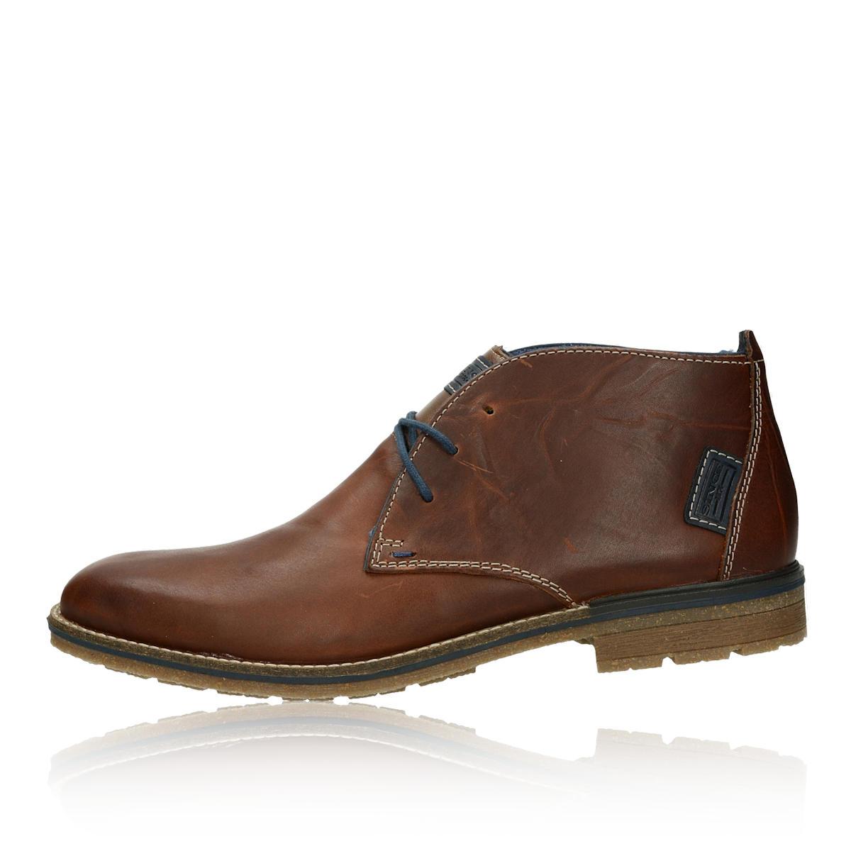 f748867284 Rieker pánska kožená členková obuv - hnedá ...