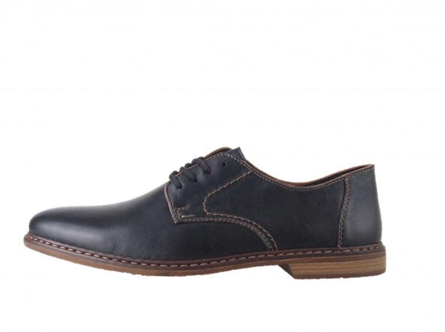 769375467 Spoločenské topánky. Rieker pánske spoločenské poltopánky - čierne Rieker  pánske spoločenské poltopánky - čierne ...