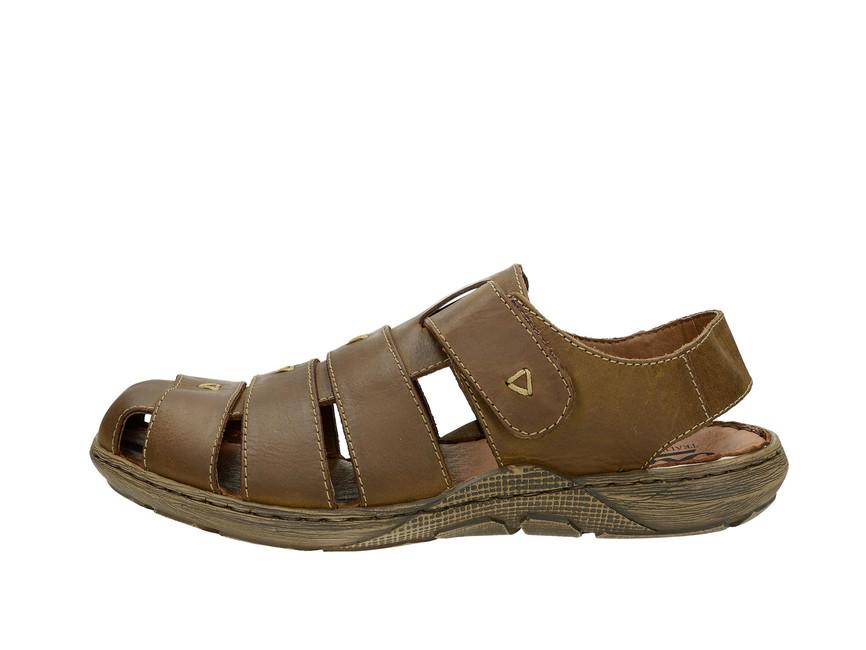 a1c715f9f00e Rieker pánske sandále - hnedé Rieker pánske sandále - hnedé ...