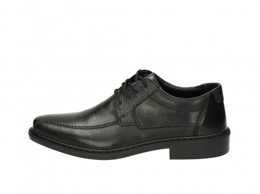 Rieker pánske spoločenské topánky - čierne 781b010f5a