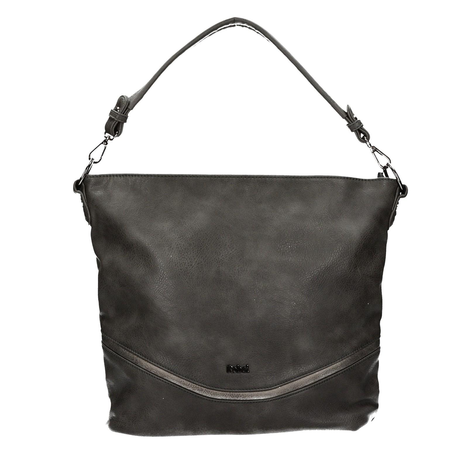 Robel dámska štýlová kabelka - tmavošedá