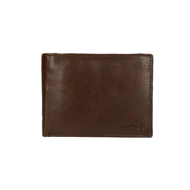 Robel pánska kožená peňaženka - hnedá ... b38fa6a78d1