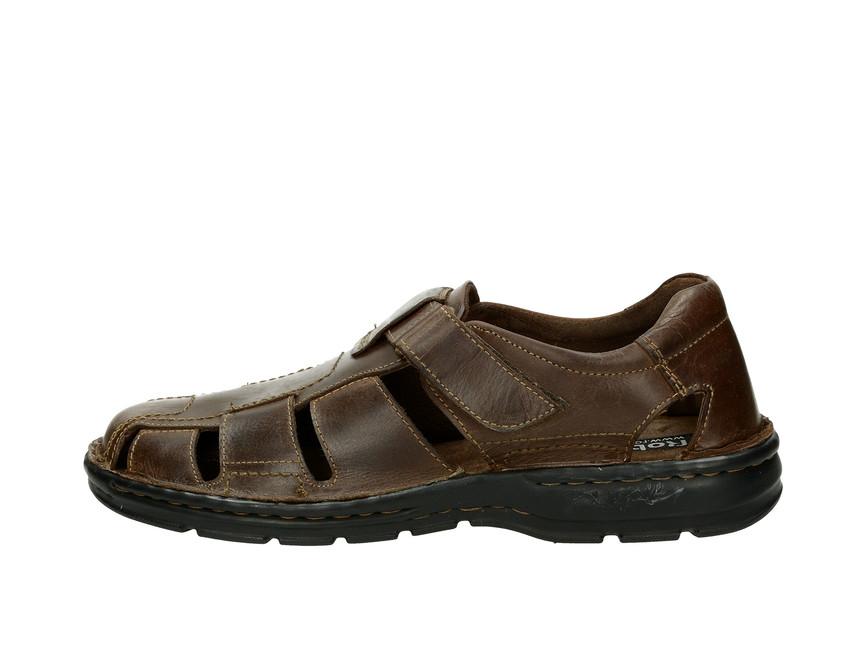 87e470fd6e57 Robel pánske kožené sandále - hnedé Robel pánske kožené sandále - hnedé ...