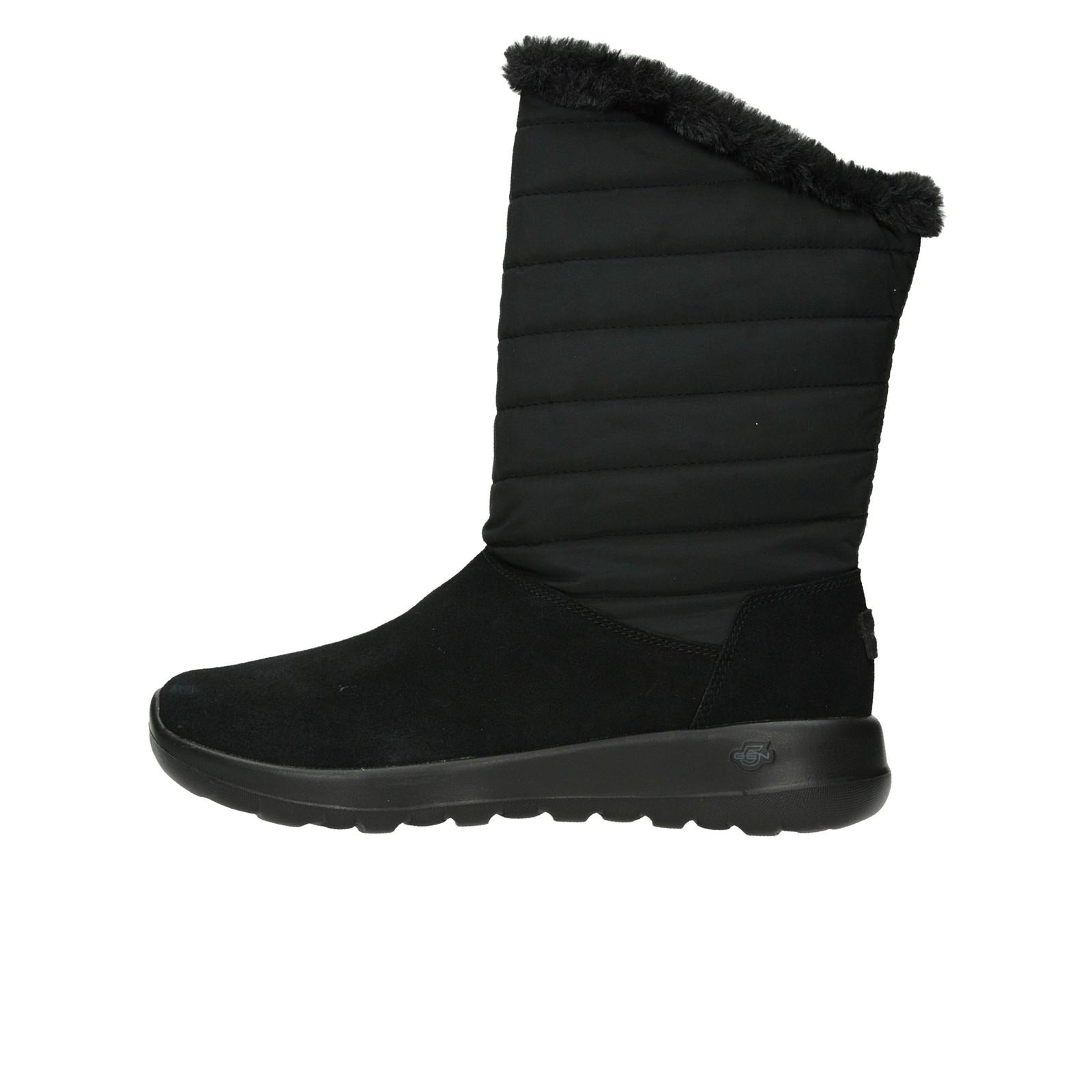 ... Skechers dámske nízke zateplené čižmy - čierne ... 8f218bc5960
