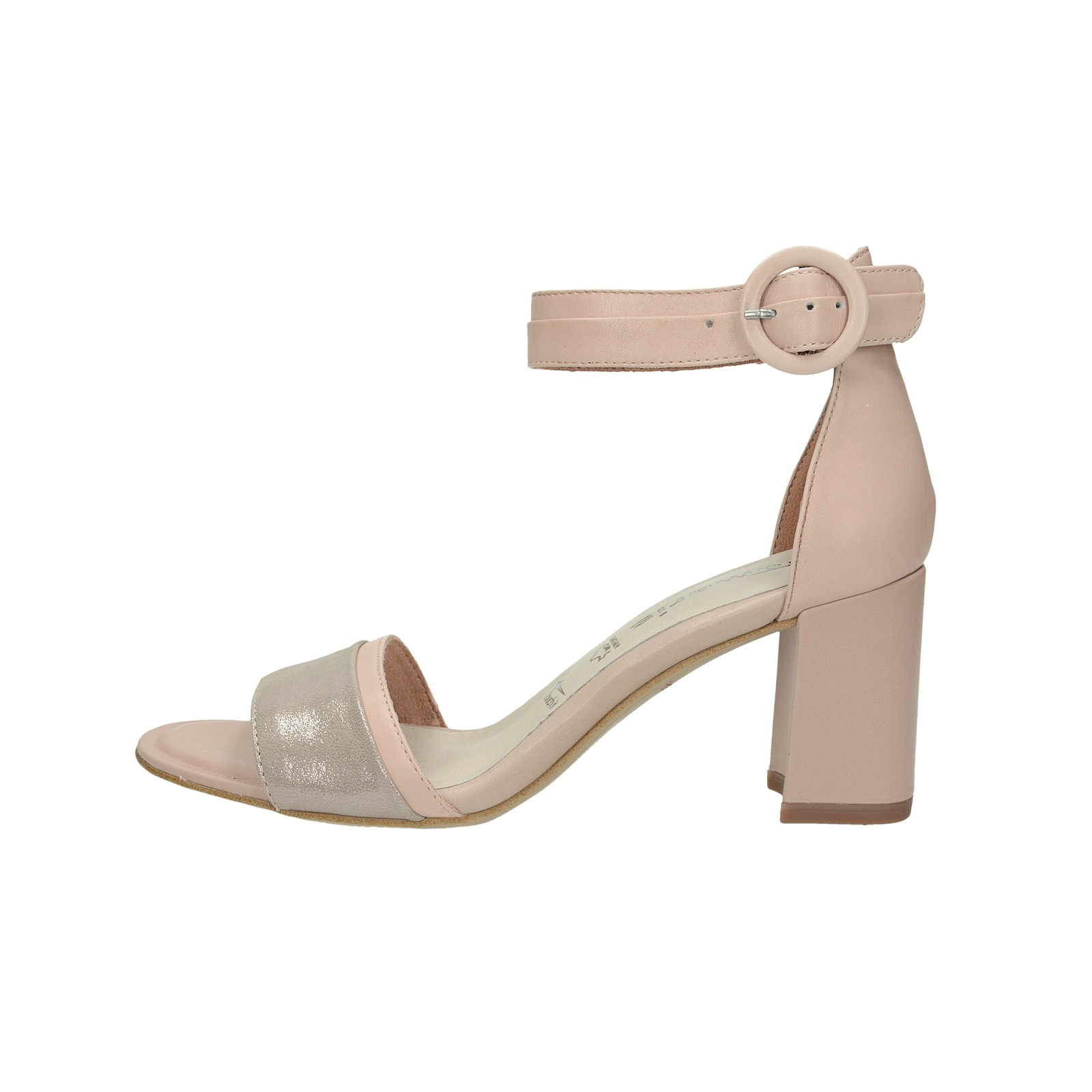 56e1a0ff3b Tamaris dámske kožené sandále - ružové Tamaris dámske kožené sandále -  ružové ...