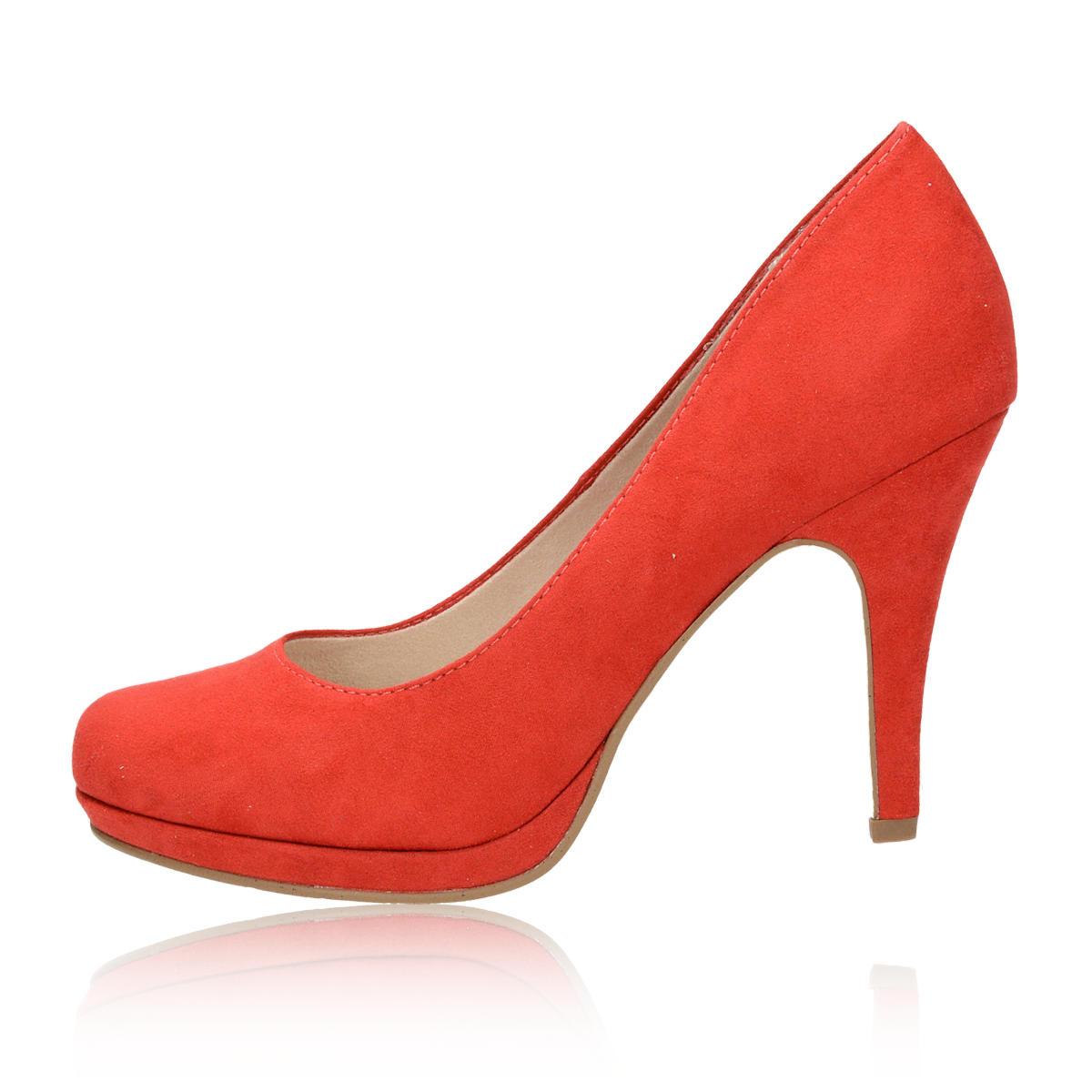 Tamaris dámske lodičky - červené Tamaris dámske lodičky - červené ... d0313b6372