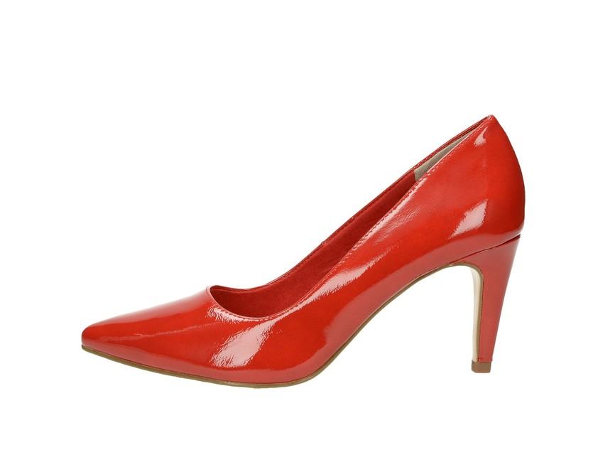 fc1bcdd68a61e Tamaris dámske lodičky - červené Tamaris dámske lodičky - červené ...