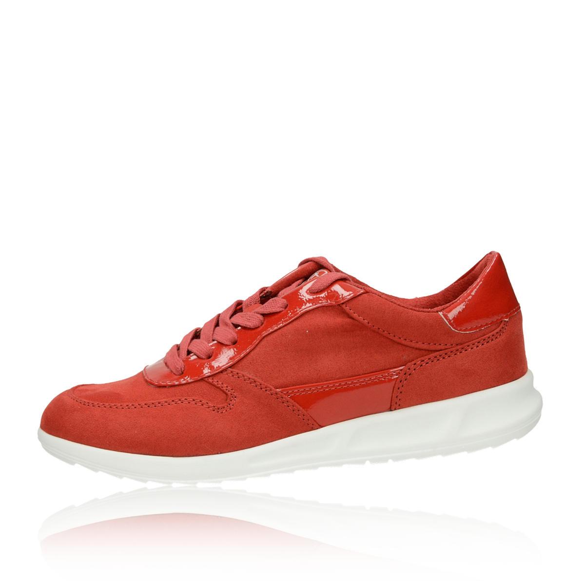 4c6b5a5cb600e Tamaris dámske pohodlné tenisky - červené Tamaris dámske pohodlné tenisky -  červené ...
