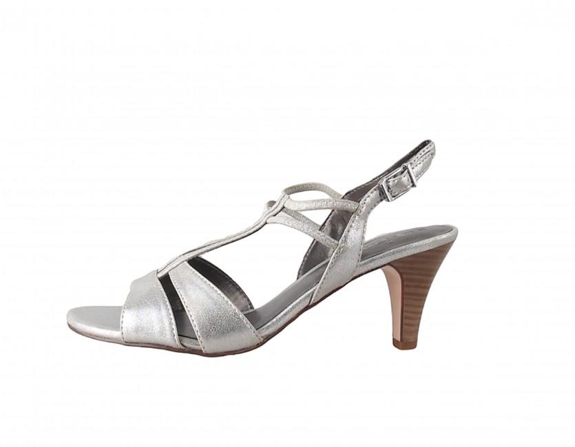 28ff6785e Tamaris dámske sandále - strieborné Tamaris dámske sandále - strieborné ...