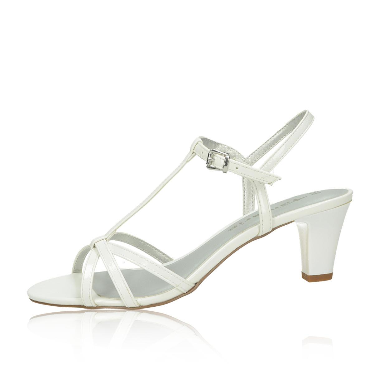 d7ceb048be97 Tamaris dámske štýlové sandále - biele Tamaris dámske štýlové sandále -  biele ...