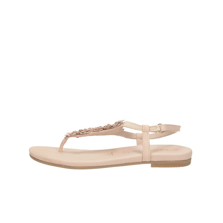 65c735f0c86a ... Tamaris dámske štýlové sandále na suchý zips - ružové ...