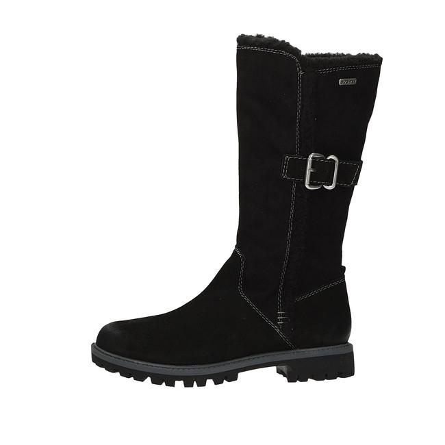 a56102db6d Tamaris dámske zimné čižmy - čierne Tamaris dámske zimné čižmy - čierne ...