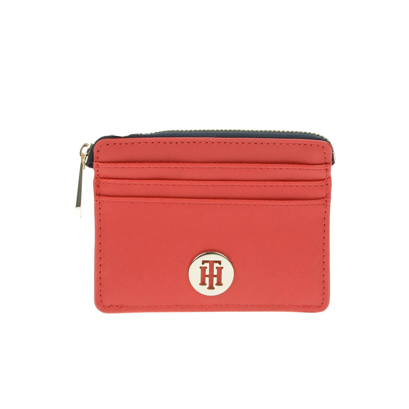 Tommy Hilfiger dámská stylová peňaženka - červená