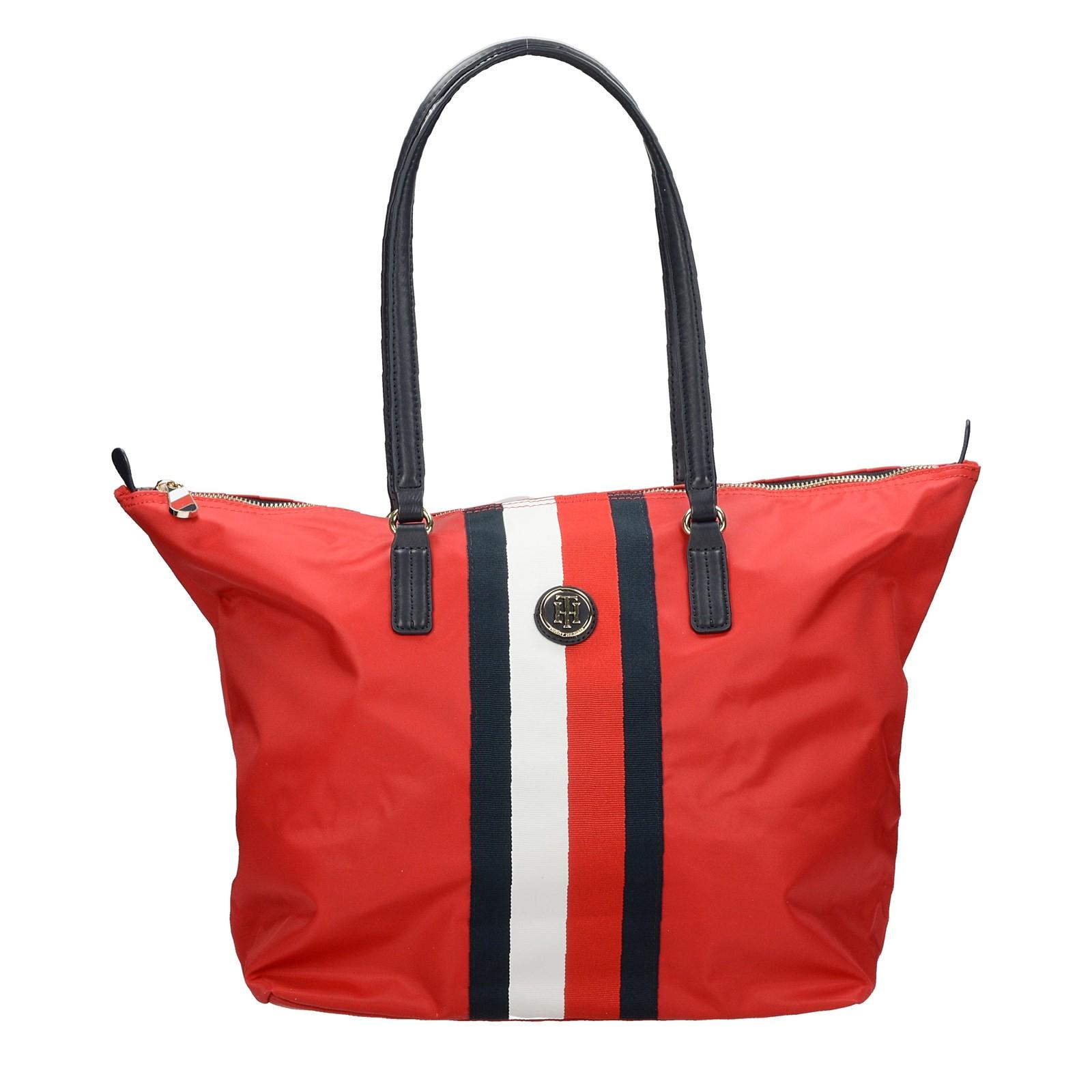2da46b4f92 ... Tommy Hilfiger dámska štýlová kabelka - červená ...