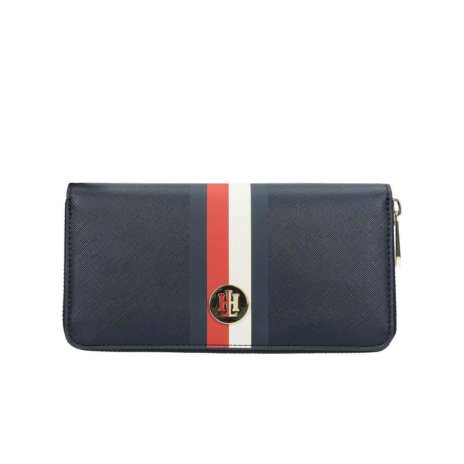 Tommy Hilfiger dámska štýlová peňaženka - tmavomodrá