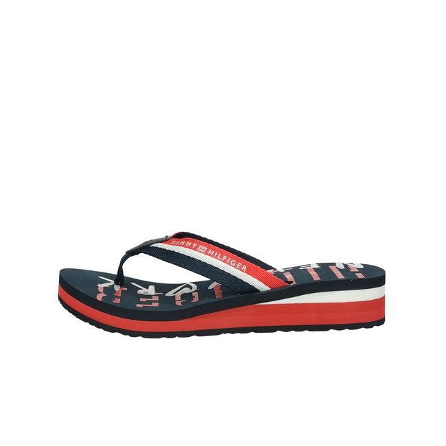 eccf111b459c1 Tommy Hilfiger dámske štýlové plážovky - modré | FW0FW02391020-RWB ...