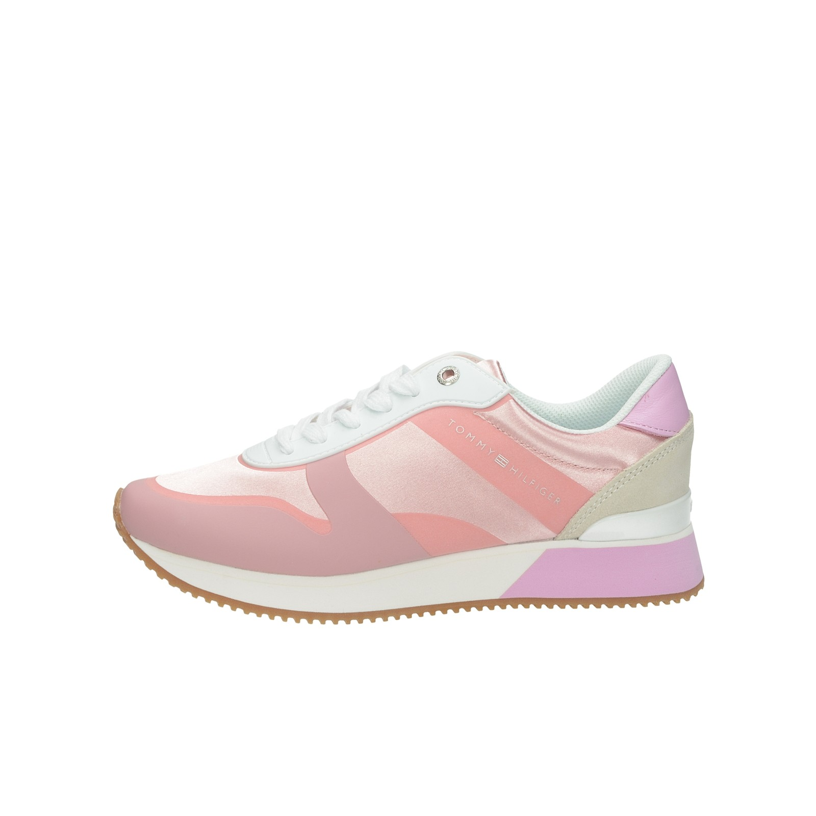 67d161c5e Tommy Hilfiger dámske štýlové tenisky - ružové | FW0FW04099518-PINK ...